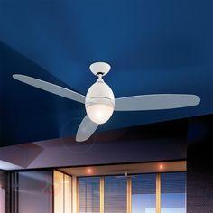 Ventilateur de plafond Premier blanc 132 cm 4014461