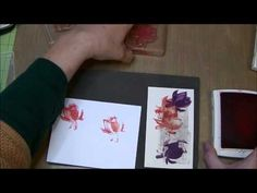 ▶ Two Minute Quick Tip: How to use Stampin' Up!'s Lotus Blossom Stamps - YouTube