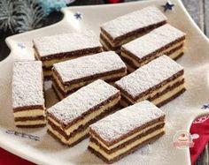 Mézes tejfölös, pudingos szelet Hungarian Desserts, Hungarian Recipes, Cookie Recipes, Dessert Recipes, Amazing Chocolate Cake Recipe, Tea Cakes, Gluten Free Desserts, Homemade Cakes, Sweet And Salty