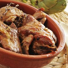 Greek Recipes, Meat Recipes, Recipies, Cooking Recipes, Greek Beauty, Chicken Wings, Carne, Sausage, Pork