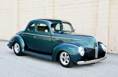 1940 Ford Coupe Passenger Side Front Grille American Racing Torque Thrust D Wheels.jpg
