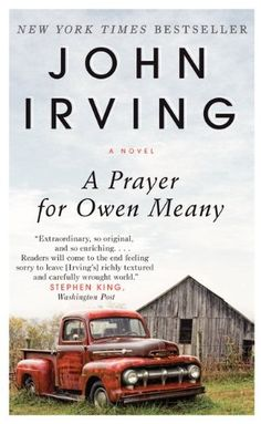 A Prayer for Owen Meany by John Irving,http://www.amazon.com/dp/006220422X/ref=cm_sw_r_pi_dp_XNuDtb08AWK6X1S9