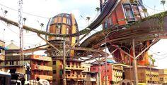 Art, bidonvilles et urbanisme, la créativité de Olalekan Jeyifous