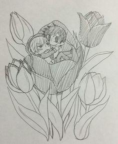 Junjou Romantica Yo Miyagi x Takatsuki Shinobu
