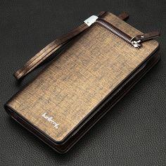 Sostenedores del teléfono 2016 New brand long men's wallet quality guarantee walletDesigner's brand top gold purse for male purse free shipping ** Haga clic en la imagen para obtener más información en el sitio web de AliExpress