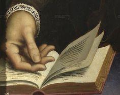 .:. Portrait of a Gentleman by Daniele da Volterra c. 1550 (detail)