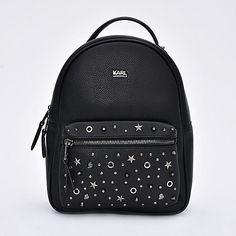 Karl Lagerfeld Mochila de Mujer Negra BPSTUDRKL - Falabella.com Backpack Purse, Mini Backpack, Fashion Bags, Fashion Backpack, Karl Lagerfeld Bags, Cute Backpacks, Girl Backpacks, Back Bag, Cute Bags