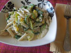Living Freely Gluten Free: Veggie Alfredo Pasta