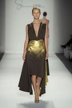 Meredith Lyon - Made with Supima Denim Fabric Fashion Week 2012
