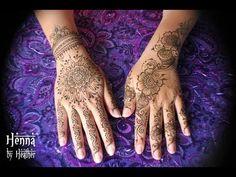 Henna Tattoo - Mandala on the Hand