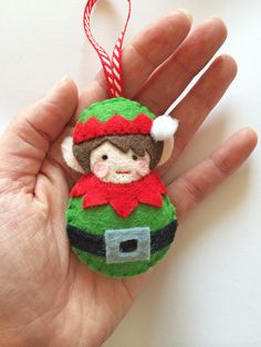 PDF Pattern All Wrapped up Christmas Ornament by sewsweetuk
