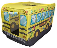School Bus Kids Indoor and Outdoor Play Tent  Easy Assembly -- Be sure to check out this awesome product.