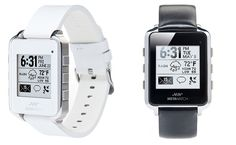 Meta-Watch. The product leverages new Bluetooth capabilities—namely, more efficient energy usage—while incorporating familiar functions from other Bluetooth watches. This includes a variety of options for notifications, navigation and entertainment when sync'd with an Android or iOS mobile devices.