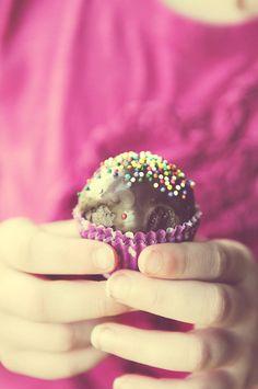 Thin Mint Chocolate Cake Balls