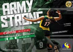 ARMY STRONG: Nerissa Bautista scored 16 points to lead Philippine Army's attack against Cignal. #SuperLiga #volleyball #sports