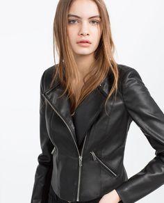 Image 4 of BIKER JACKET from Zara