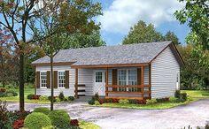 Fachada de casa estilo rancho