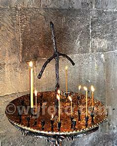 Prayer candles in Eastern Orthodox Church in Georgia Worship Ideas, Georgia Country, Orthodox Christianity, Ancient Civilizations, Prayer, Ceiling Lights, Candles, Eid Prayer, Prayer Ideas