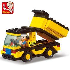 Genuine SLuban Blocks Heavy Engineering Series Children Educational Toy  Truck Compatible with Lego Toy Trucks, c3154dd81b