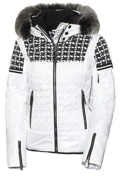 Toni Sailer Daphne Fur Womens Ski Jacket White