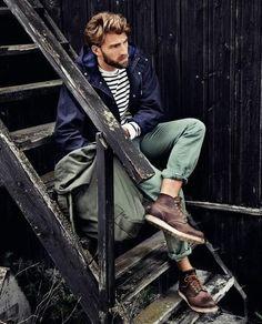 Smart Casual Outfits for Men: Winter Style Inspiration versatile looks) - Herren Style Smart Casual Outfit, Men Casual, Casual Hair, Casual Outfits, Fall Outfits, Summer Outfits, Rugged Style, Style Brut, Men's Style