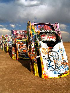 Amarillo, Texas! Cadillac Ranch with Mom, basketball trip with the Rockies!