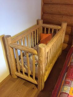 origosvecicky.blogspot.sk #logbabybed#baby#children#wood#bed