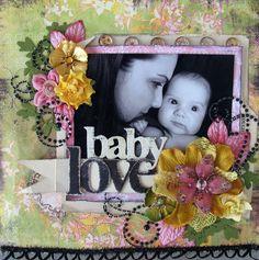 Baby Love-Prima - Scrapbook.com