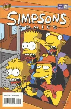 Simpsons Comics 26 - Bill Morrison, Matt Groening