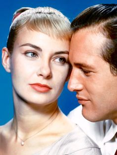 Joanne Woodward & Paul Newman in The Long, Hot Summer, 1958