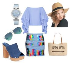 """""""Untitled #92"""" by mariecurie76 on Polyvore featuring Rosie Assoulin, Style & Co., Sole Society, BCBGeneration, Tiffany & Co., OMEGA, women's clothing, women, female and woman"""