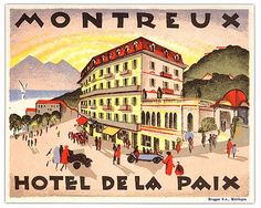 hotel de la paix montreux   Flickr - Photo Sharing!