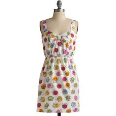 Adorable.. and I love cupcakes!!  Baked with Love Dress, found on polyvore.com