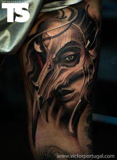 Tattoo byVictor Portugalat 9th Circle Tattoo Studio in Kraków, Poland