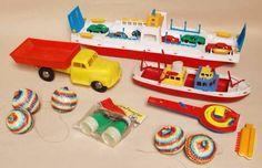 Speelgoed uit de jaren 70