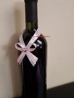 Svadobné pierko na fľašu biela + púdrovo ružová Perfume Bottles, Wedding, Beauty, Home Decor, Valentines Day Weddings, Decoration Home, Room Decor, Perfume Bottle, Weddings
