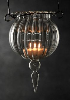 Hanging Candle Holders 11 Glass  $6.99  each / 3 for $6 each