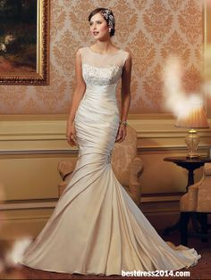 wedding gown wedding gowns so sliming  perfect !!!