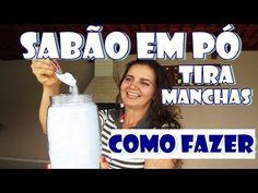 SABÃO EM PÓ TIRA MANCHAS - COMO FAZER com Fran Adorno - YouTube