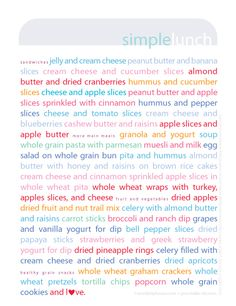 Simple and healthy school lunch ideas {with free printable}. Tips for picky eaters too.