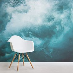 Invite a bold splash of life into your interior with our Andaman Photographic Ocean Wall Mural. Bedroom Murals, Bedroom Wall, Bedroom Sets, Bedrooms, Cool Wallpapers Designs, Vintage Wallpapers, Ocean Mural, Ocean Bedroom, Waves Wallpaper