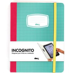 10 inch tablet sleeve speciaal voor kinderen ben jij zoek naar ipad and other tablet screens need protection so why not do it in style with this incognito retro ipad case by doiy it resembles an old school notebook voltagebd Gallery