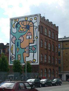 Mural in Copenhagen | Flickr - Photo Sharing!