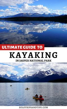 Find all the best places for kayaking in Jasper National Park with this guide - map included! When you plan your Jasper vacation be sure to check out all these beautiful lakes in the Rocky Mountains for jaw-dropping views while kayaking or paddle boarding. Jasper is less crowded than Banff Alberta so it's a great place for a weekend getaway to enjoy the Canadian Rockies and get outside. #jasper #kayaking #jasperalberta #jasperalberta #rockymountains #nationalparks #canada #albertatravel… Canada National Parks, Jasper National Park, Parks Canada, Banff National Park, Alberta Travel, Banff Alberta, Alberta Canada, Maine In The Fall, Kayak Adventures