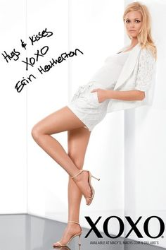 erin heatherton for xoxo