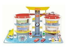 MARX SUPER WARDS TOY GAS SERVICE STATION DECAL SET