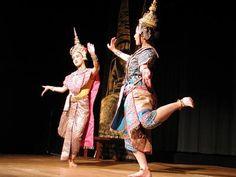 thai traditionnal dance