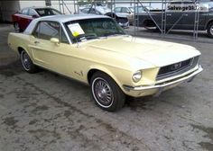 1968 FORD MUSTANG VIN: 8R01T114028