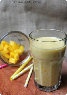 Lassi mangue, coco et vanille