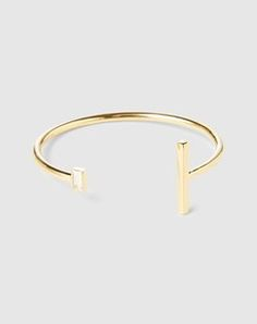 """Bracelet: Elizabeth & James """"Stella Bangle"""". Click on the picture to get the product <3"""